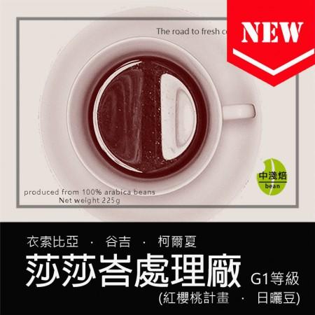 衣索比亞 谷吉 柯爾夏 莎莎峇處理廠 日曬 G1 紅櫻桃計畫◆莊園精品咖啡豆  半磅/袋