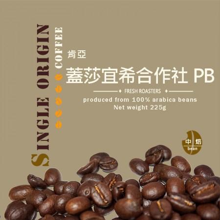 肯亞 蓋莎宜希合作社 PB 水洗◆莊園精品咖啡豆  半磅/袋