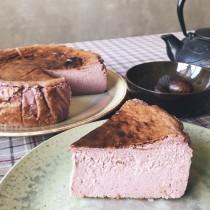桑椹巴斯克乳酪蛋糕Mulberry Basque Burnt Cheesecake