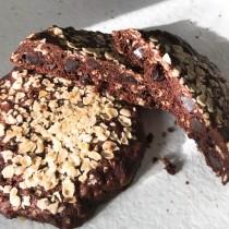 美式燕麥軟餅乾 巧克力/肉桂   1盒10入