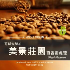 哥斯大黎加  美景莊園  百香蜜處理◆莊園精品咖啡豆  半磅/袋