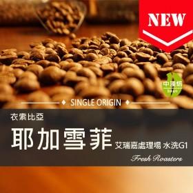 衣索比亞 耶加雪菲 艾瑞嘉處理場 水洗G1◆莊園精品咖啡豆  半磅/袋